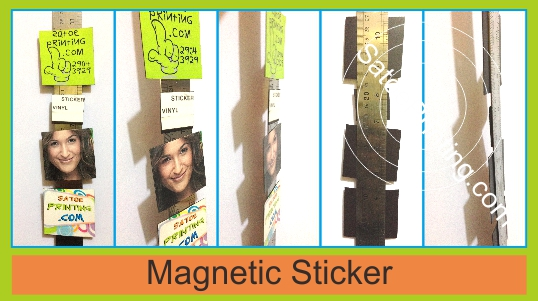 magnetic sticker